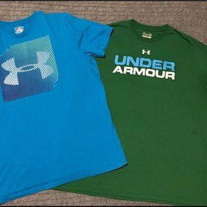 Men's UA shirt lot, buy both for one price!